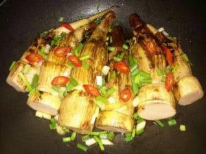 kanyas-stuffed-bamboo-shoots-cookpad-bamboo-recipes